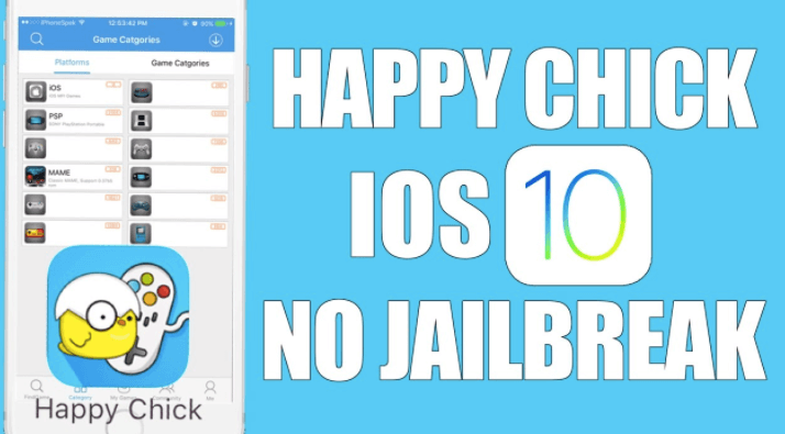 Happy chick iOS jail break phones